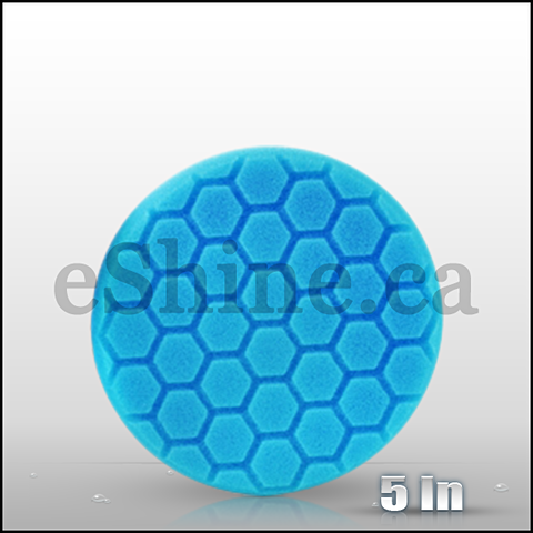 "Chemical Guys 5.5"" Hex Logic Blue Light Polish/Finish Pad (BUFX_105HEX5)"