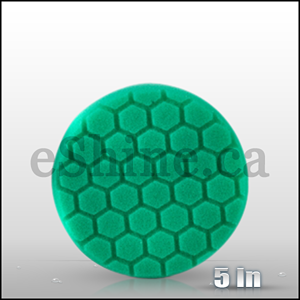 "Chemical Guys 5.5"" Hex Logic Green Polishing Pad (BUFX_103HEX5)"