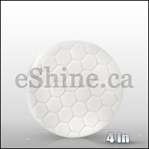 "Chemical Guys 4"" Hex Logic White Polishing Pad (BUFX_104HEX4)"