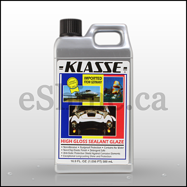 Klasse High Gloss Sealant Glaze (16 9oz) – eShine Car Care Canada