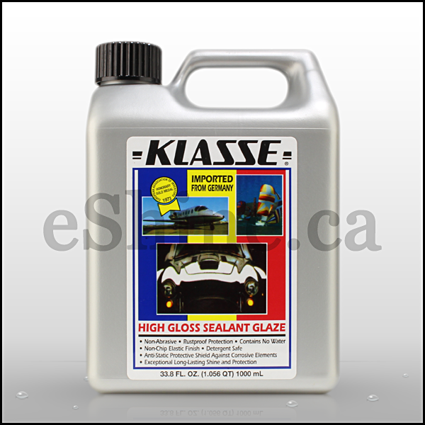 Klasse High Gloss Sealant Glaze (32oz) – eShine Car Care Canada