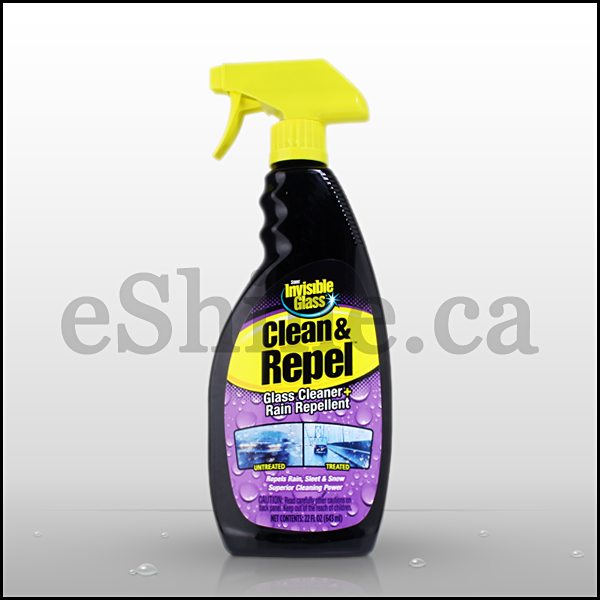 Stoner Invisible Glass Clean & Repel W/Sprayer (22oz)
