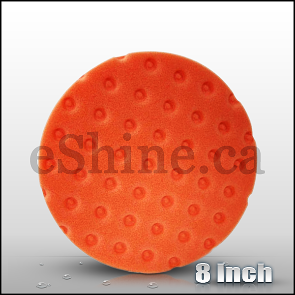 "Lake Country 8"" CCS Orange Rotary Pad - eShine Car Care"