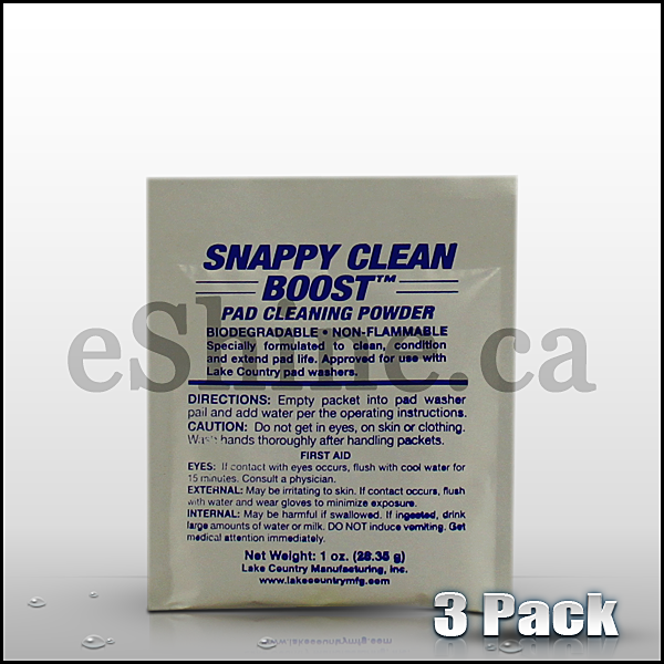 Snappy Clean Foam Pad Cleaner (3pk) - eShine Car Care