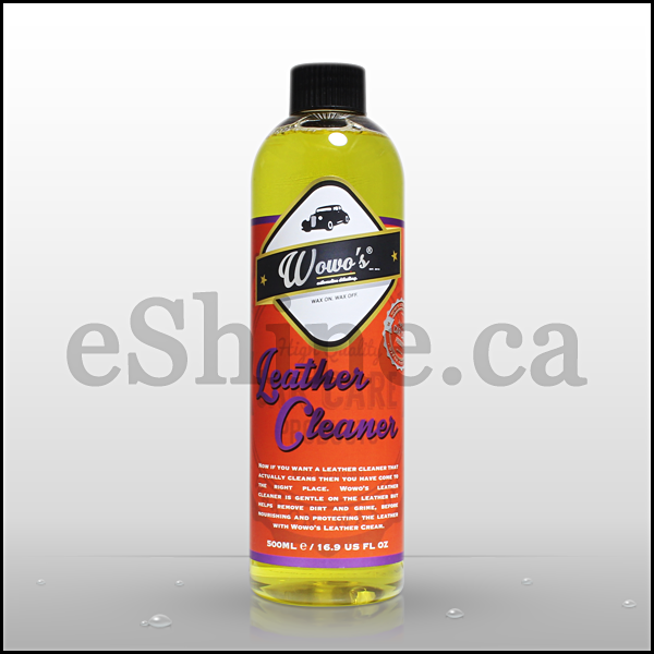 Wowo's Leather Cleaner W/Sprayer (500ml)