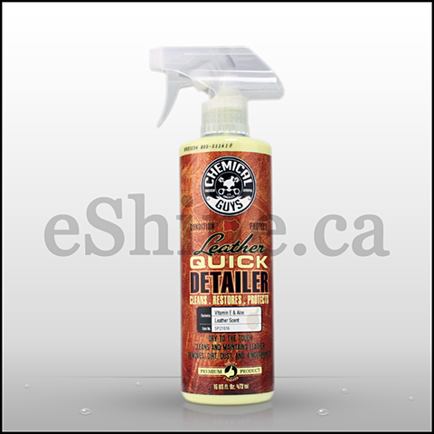 Chemical Guys Leather Quick Detailer W/Sprayer (16oz) (SPI21616)