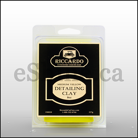 Riccardo Medium Yellow Detailing Clay (8oz)