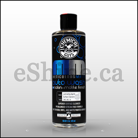 Chemical Guys Meticulous Matte Auto Wash (16oz) (CWS_995_16)