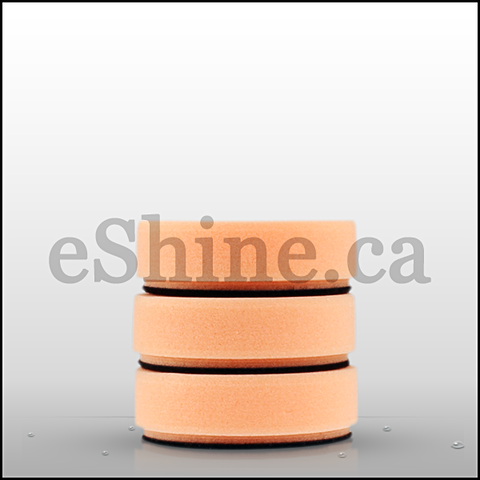 "Griot's Garage 3"" Orange Foam Polishing Pads (3pk) - eShine Car Care"