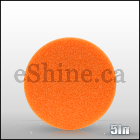 "Buff & Shine 5.5"" Orange Euro Pad"