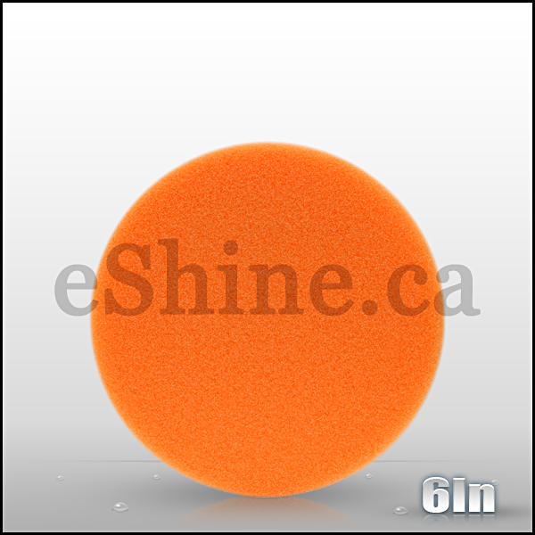 "Buff & Shine 6"" Orange Euro Pad"
