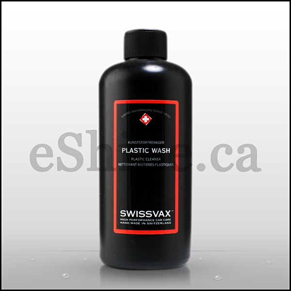 Swissvax Plastic Wash & Cleaner W/Sprayer (250ml)