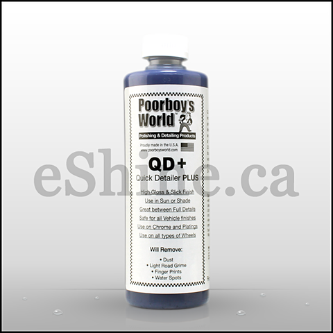 Poorboy's QD+ Quick Detailer W/Sprayer (16oz)
