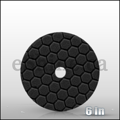"Chemical Guys 6.5"" Quantum Hex Black Finishing Pad (BUFX116HEX6)"