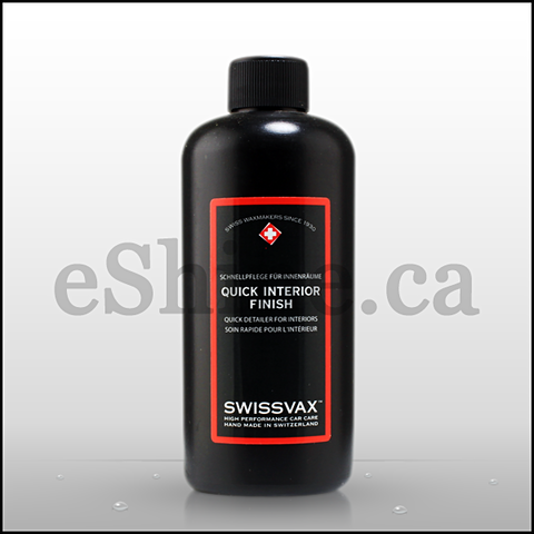 Swissvax Quick Interior Detailer W/Sprayer (250ml)