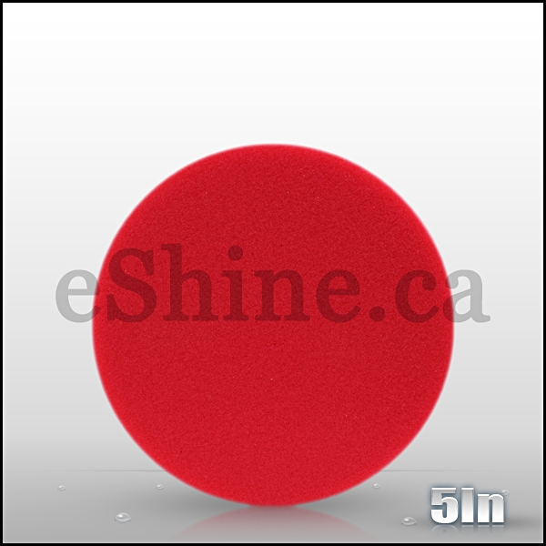 "Buff & Shine 5.5"" Red Euro Pad"