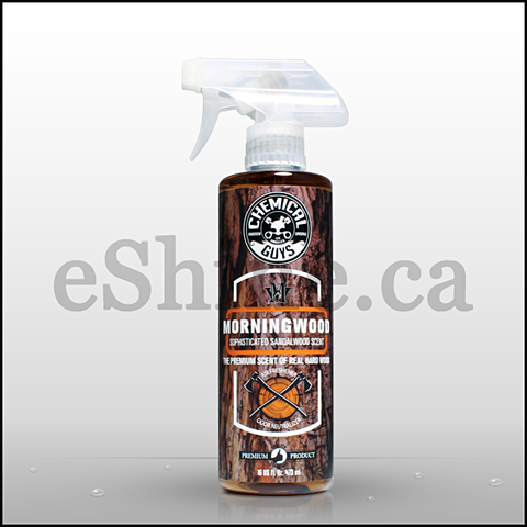 Chemical Guys Scent MorningWood Hardwood Air Freshener W/Sprayer (16oz) (AIR23016)