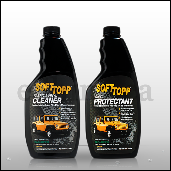 SOFTTOPP Vinyl Jeep Soft Top Care Kit