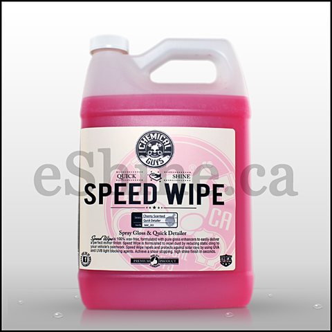 Chemical Guys Speed Wipe Spray Detailer (128oz) (WAC_202)