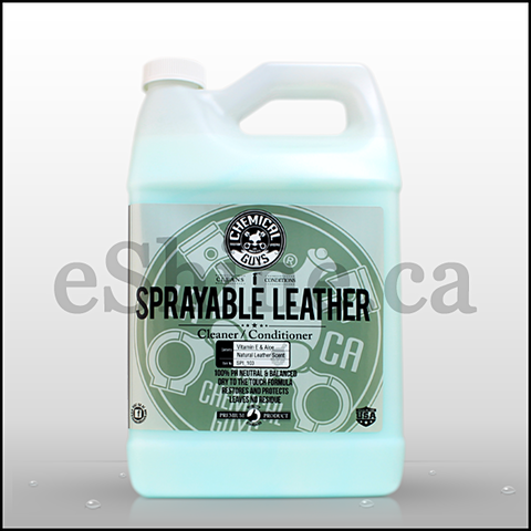 Chemical Guys Sprayable Leather Conditioner & Cleaner (128oz) (SPI_103)