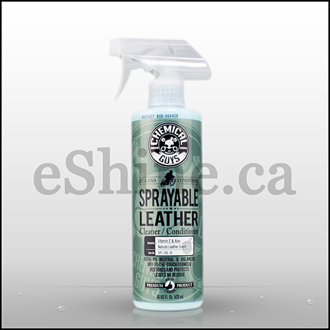 Chemical Guys Sprayable Leather Conditioner & Cleaner W/Sprayer (16oz)  (SPI_103_16)