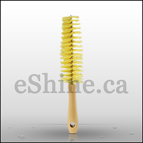 Stiff Wheel Brush (11.25in) - eShine Car Care