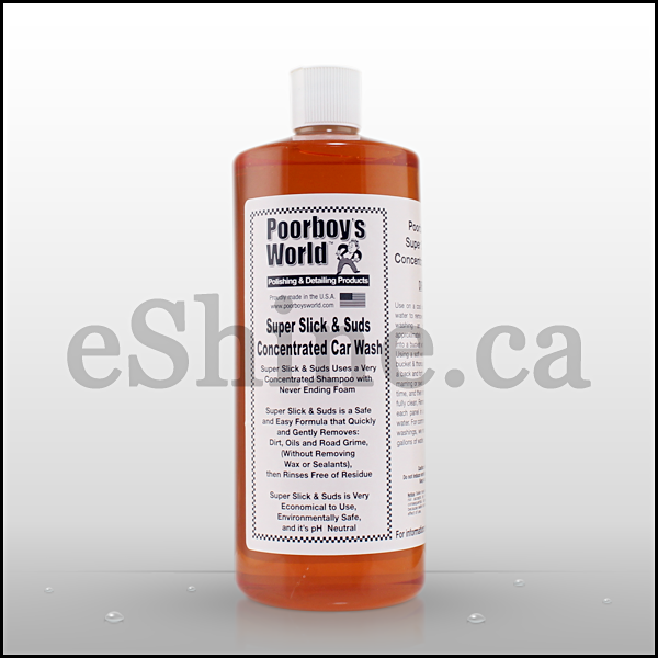 Poorboy's Super Slick & Suds Concentratred Wash (32oz)