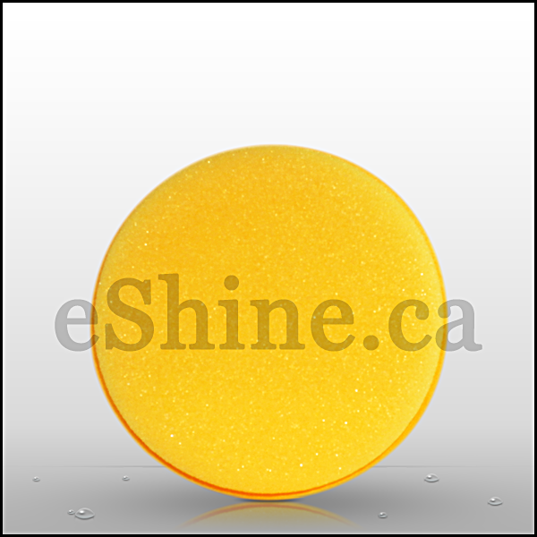 Yellow UFO Applicator (4.5in) - eShine Car Care