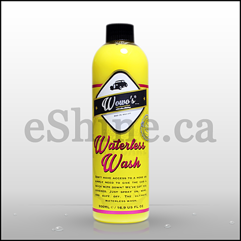 Wowo's Waterless Wash W/Sprayer (500ml)