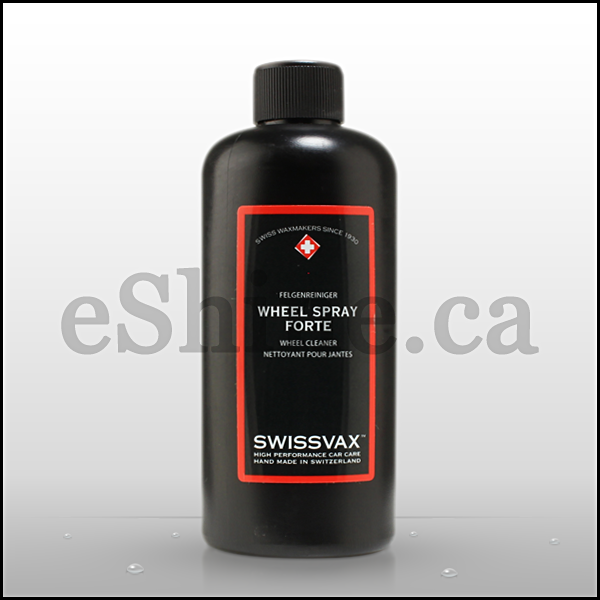 Swissvax Wheel Forte Wheel Cleaner W/Sprayer (250ml)