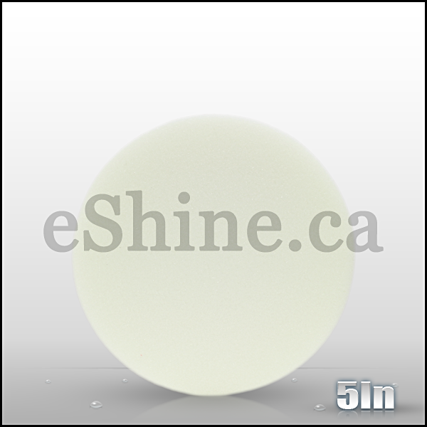 "Buff & Shine 5.5"" White Euro Polishing Pad"