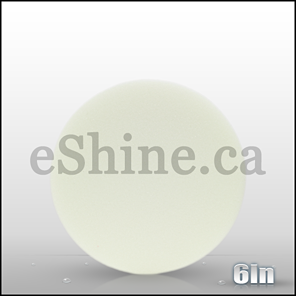 "Buff & Shine 6"" White Euro Polishing Pad"