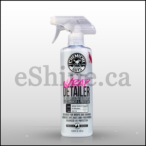 Chemical Guys Wrap Detailer Gloss Enhancer W/Sprayer (16oz) (SPI21716)