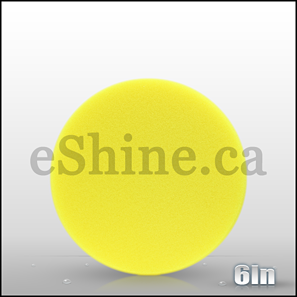 "Buff & Shine 6"" Yellow Euro Pad"