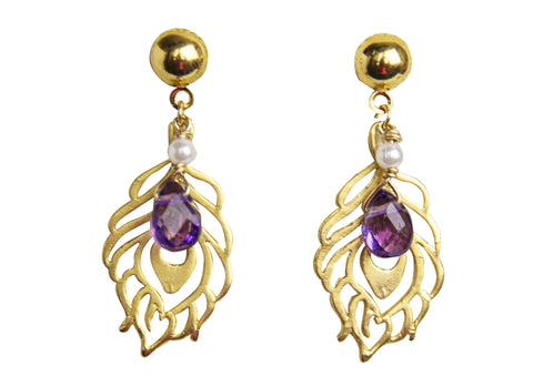 Leone Earrings - Happy Poppy Jewelry