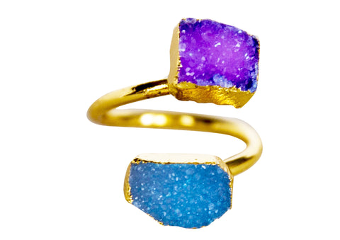 Paula Druzy Ring - Happy Poppy Jewelry