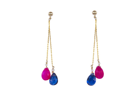 Kason Earrings - Happy Poppy Jewelry