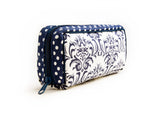 Essential Oil Travel Bag (Blue/White Windsor)