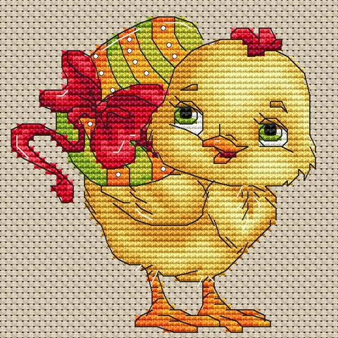Cute Easter Chicken