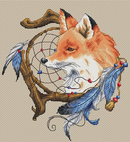 Dream Catcher with Fox