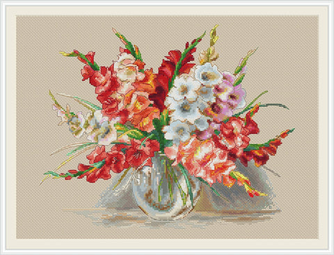 Bouquet of Gladioli
