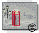 Winter Phone Box
