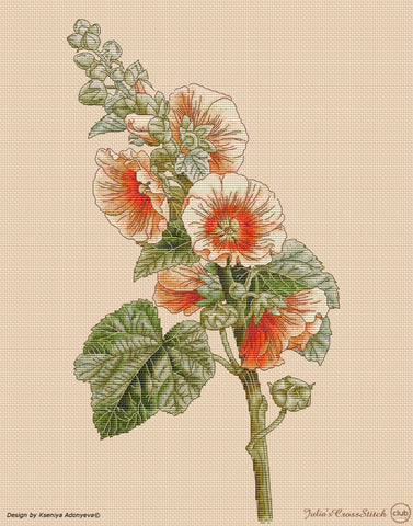 free cross stitch patterns -  A Mallow - www.crossstitchclub.com - 1