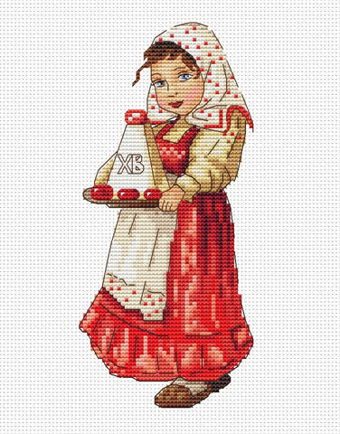 free cross stitch patterns -  Russian Easter - www.crossstitchclub.com - 1