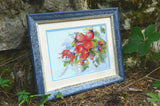 free cross stitch patterns -  A Hedge Rose - www.crossstitchclub.com - 2