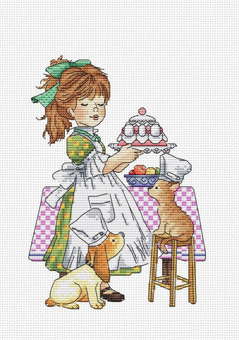 free cross stitch patterns -  A Mommy Helper - www.crossstitchclub.com