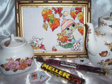 free cross stitch patterns -  Autumn Tea Party - www.crossstitchclub.com - 2