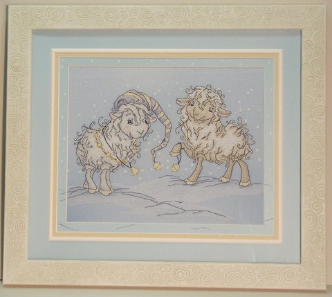 free cross stitch patterns -  Christmas sheep 2 - www.crossstitchclub.com - 1