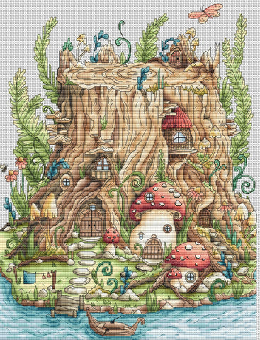 Cozy Stump House