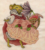 free cross stitch patterns -  Dancing Mouse - www.crossstitchclub.com - 2